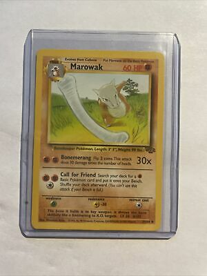 MAROWAK - Jungle Set - 39/64 -  Pokemon Card - NM