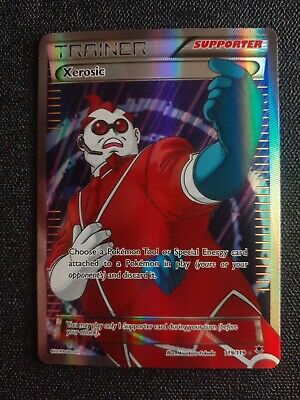 Xerosic - 119/119 - Full Art Ultra Rare NM XY Phantom Forces Pokemon