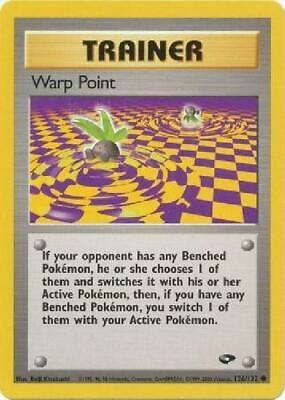 Warp Point - 126/132 - Common NM Gym Challenge Pokemon 2B3