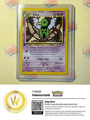 1st Edition Xatu 52/75 Neo Discovery NM/MINT Condition Pokemon Card