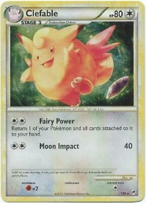Clefable -1/95 - Holo Rare NM Call of Legends Pokemon
