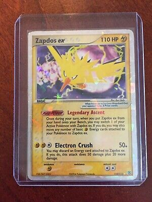 Pokemon Zapdos Ex 116/112 FireRed & LeafGreen Pokémon Card