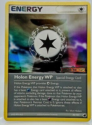 Holo HOLON WP Energy STAMPED 86/101  Dragon Frontiers Pokemon Card NM/Mint 2006