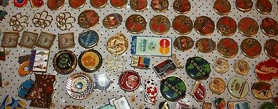 Lots Of 5000 Old Vintage Pins From Europe, Different Themes& Pins On The Back