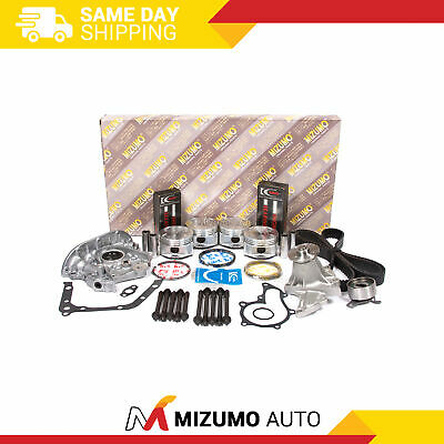 Engine Rebuild Kit (w/o Sensor Port) Fit 93-97 Geo Toyota Corolla 1.6 Dohc 4afe