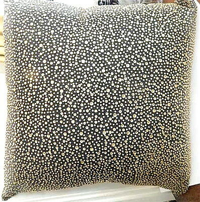 "Michael Aram Brass Studded Large 24"" Decorative Throw Pillow"