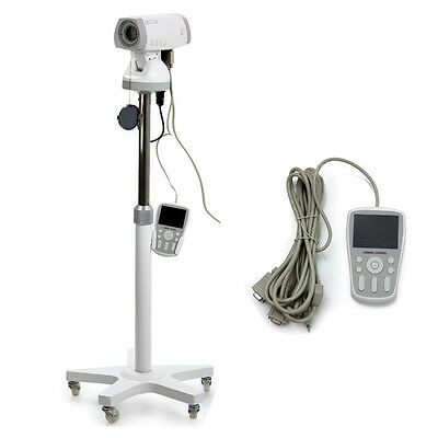 color video electronic colposcope sony camera 830k pixels gynaecology + trolley