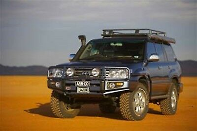 arb 4x4 accessories 3413190 front deluxe bull bar winch mount bumper