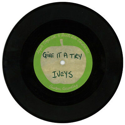 beatles related the iveys (badfinger) 1970 give it a try apple acetate (uk)