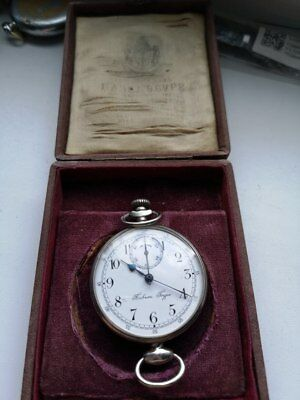 extremely rare collectible watch chronograph pavel bure ~1910 1920 year serviced