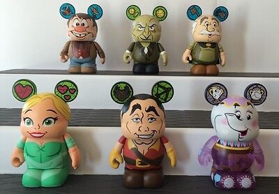 Disney Vinylmation Beauty And The Beast - Set Of 6