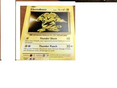 Electabuzz 71/214 Lost Thunder Pokemon Card   New   x2 Cards