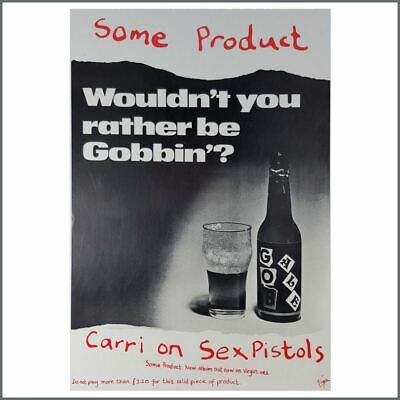 Some Product: Carri On Sex Pistols 1979 Promotional Poster (uk)