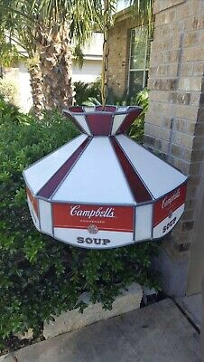 Campbell Soup Chandelier Collectibles Vintage