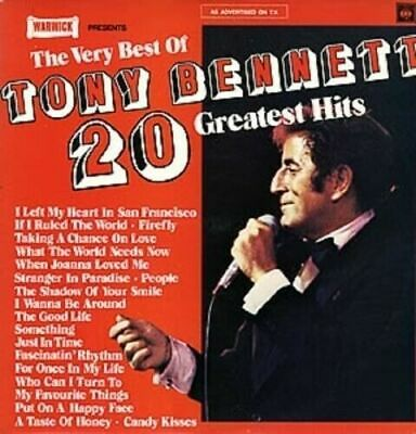 Tony Bennett The Very Best Of 1976 Uk Vinyl Lp Excellent Condition 20 Greatest