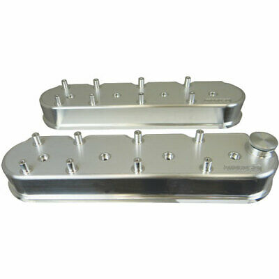 Moroso 68470 Billet Aluminum Valve Covers With Coil Pack Mounts Fits Gm Ls Serie
