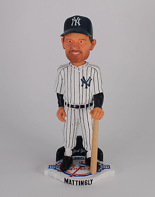 Don Mattingly Limited Edition Forever Collectibles Yankee Stadium Bobblehead!