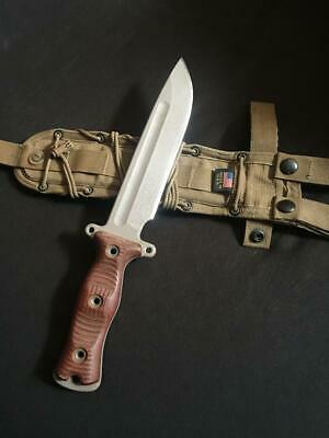 Busse Light Brigade Team Gemini With Sheath - Twd Daryl Dixon