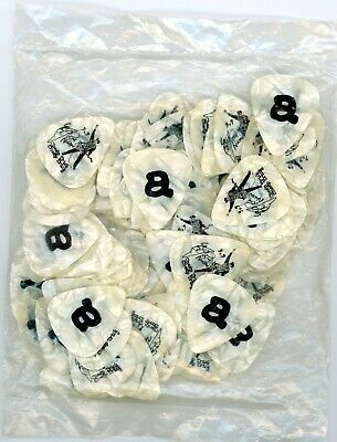 Cheap Trick Rick Nielsen Sealed Bag 100 Count Letter (a) Guitar Pick Picks