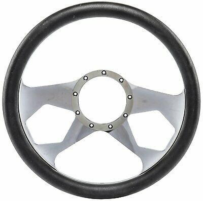 Jegs Performance Products 70427 Chrome-plated Billet Aluminum 14 Steering Wheel