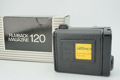 【almost Unused】 Zenza Bronica 120 Film Back Holder For Etr Etrs Etr Si Japan