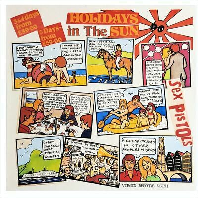 Sex Pistols 1977 Holidays In The Sun Promotional Poster (uk)