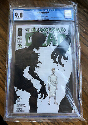 Walking Dead #1 Cgc 9.8 Eccc Exclusive Variant; Skybound Image Comics; 1st Print