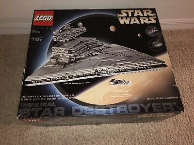Lego Star Wars Imperial Star Destroyer (10030) Open Box Everything Sealed