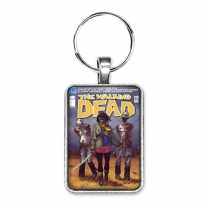 The Walking Dead #19 Cover Key Ring Or Necklace First Appearance Of Michonne