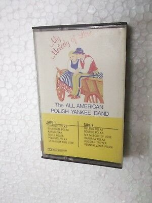 The All American Polish Yankee Band  My Melody Of Love    Rare Cassette Tape