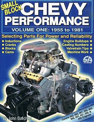 Book - Small Block Chevy Performance - 1955-1981; Engine Buildups, Cranks, Cams
