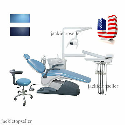 Fda Dental Chair & Stool Computer Controlled 110v Hard Leather 2 Colors Type