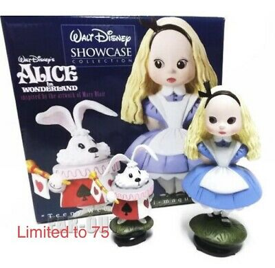 Alice In Wonderland Alice White Rabbit Figure D23 Member Limited Edition 75 Ems