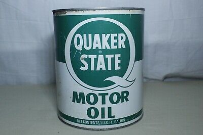 Vintage Quaker State 1 Gal Can