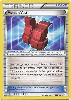 Assault Vest 133/162 - Uncommon Pokemon Card - BREAKthrough Set (2015) - NM