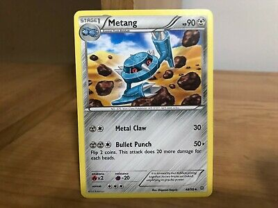 Pokemon Card Metang 48/98 Ancient Origins in Good Condition!