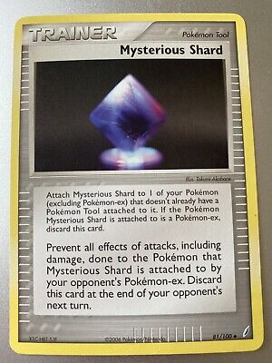 Mysterious Shard 81/100 Crystal Guardians Pokemon Card*MINT CONDITION NEVER USED