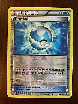 DIVE BALL - Pokemon XY Primal Clash RARE HOLO 125/160