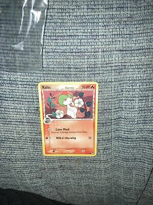 RALTS - 61/101 - Ex Dragon Frontiers STAMPED - Holo - Pokemon Card - NM