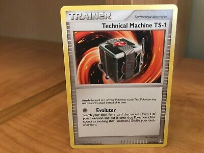 Pokemon Card Trainer Technical Machine TS-1 136/146 Legends Awakened Good Shape
