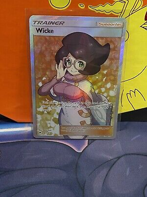 Pokemon Wicke 147/147 Full Art Trainer Burning Shadows