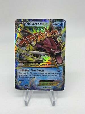 M Gyarados EX 27/122 - Ultra Rare Breakpoint Pokemon Card  New Fresh Out Of Box
