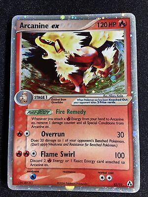 *NM* Arcanine EX 83/92 EX Legend Maker Holo Rare Pokemon Card