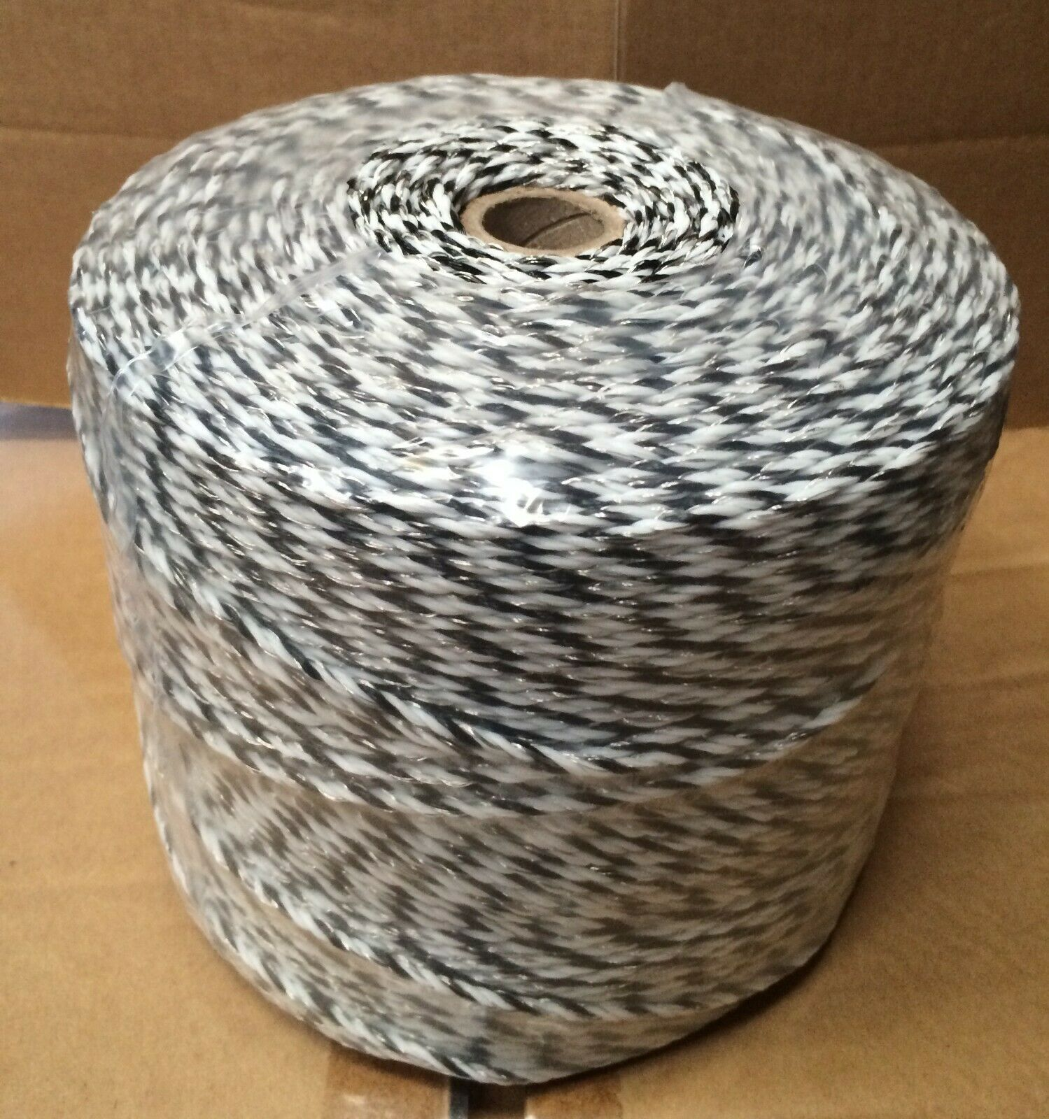 100+ [ Electric Fence Polywire ] | 500m White Orange E Defence Poly ...