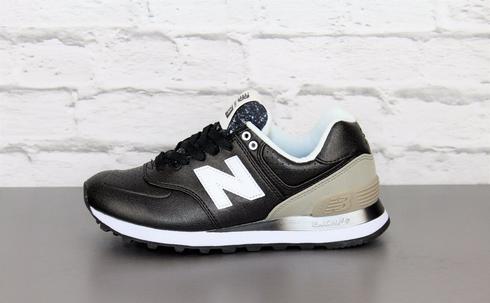 NEW BALANCE WL 574 RAA Women Scarpe Black Grey wl574raa Sneaker Donna 373 565