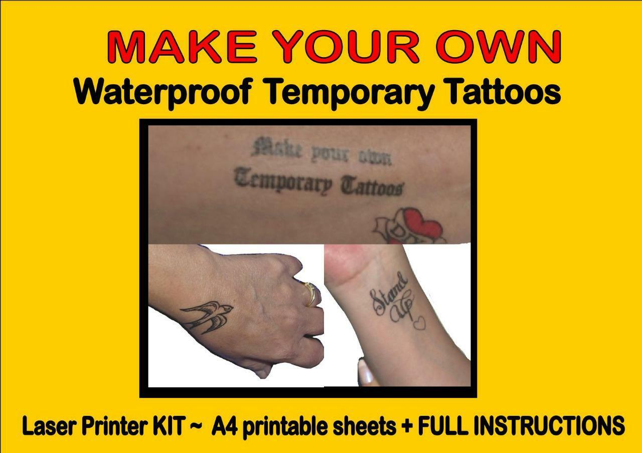 temporary tattoos paper You'll find the newest styles for wholesale temporary tattoo paper here at lightintheboxcom, the world's leading wholesale and retail website we provide great quality wholesale temporary tattoo paper at the best prices.