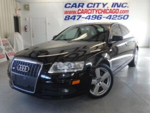 2008 Audi A6 Base Sedan 4-Door 2008 AUDI A6 3.2L  QUATTRO AWD. CLEAN CARFAX REPORT WITH 2 PREVIOUS OWNERS. 18 S300