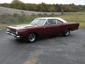 1968 Plymouth Road Runner  1968 Plymouth Road Runner, True RM21 Car, Rare Factory Color, 440, Automatic, PS300