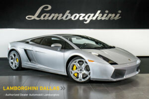 2004 Lamborghini Gallardo Base Coupe 2-Door VERY NICE! + AM/FM CD/CASSETTE + PWR HEATED SEATS + CASSIOPEA WHLS + ALCANTARA300