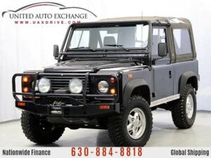 1994 Land Rover Defender -- 1994 Land Rover Defender 90  120673 Miles Black SUV 3.9L 8-Cyl Engine Manual300